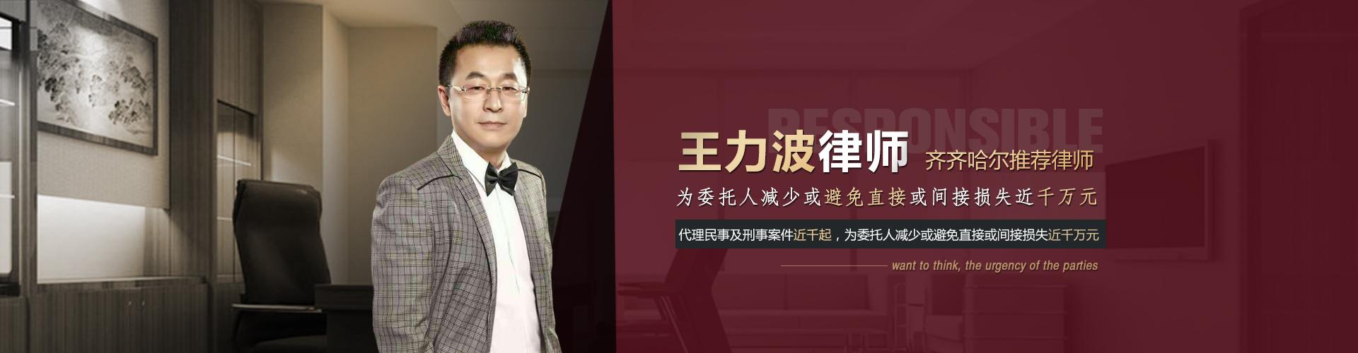 黑龙江王力波律师照片1