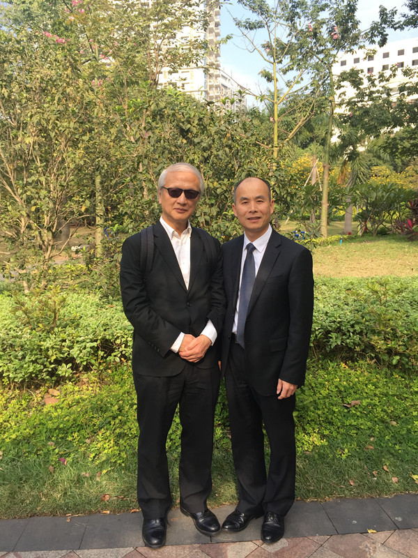 陈维崧律师与香港张耀良大律师