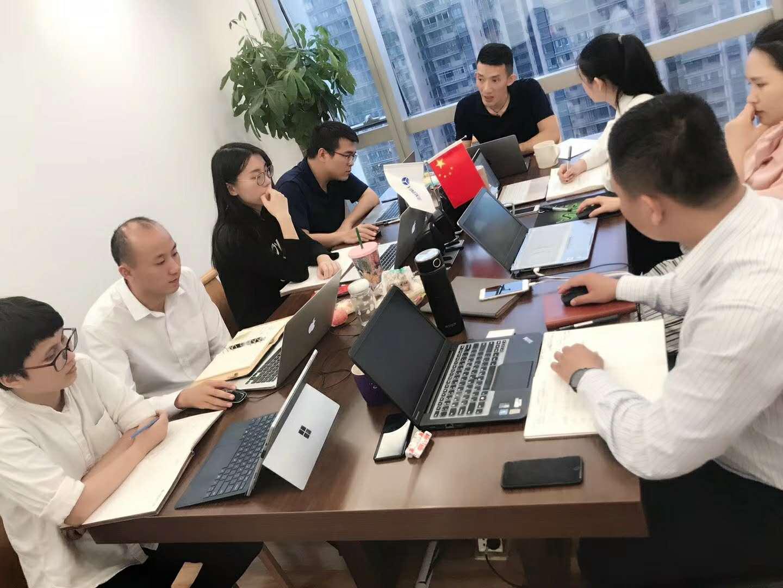 石文辉律师组织盈辉律师团队周末学习