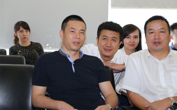 受邀在北京市京都律所观摩学习