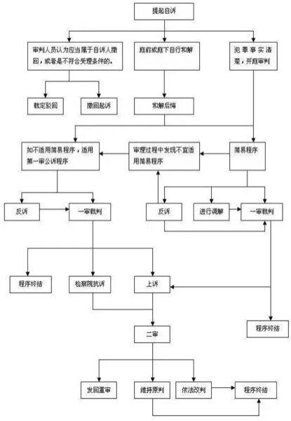 自诉流程图