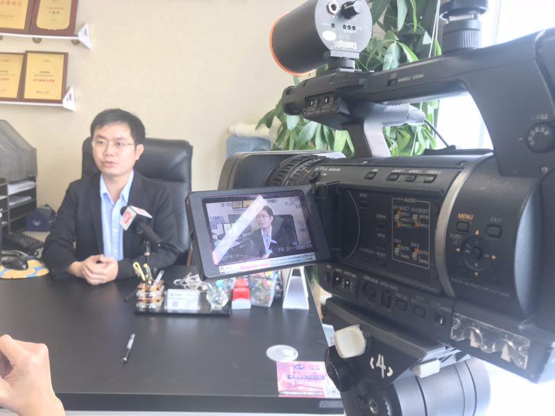 马俊哲律师接受电视台采访4