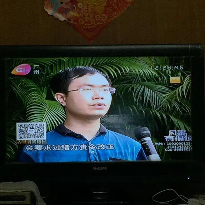 马俊哲律师接受电视台的采访2