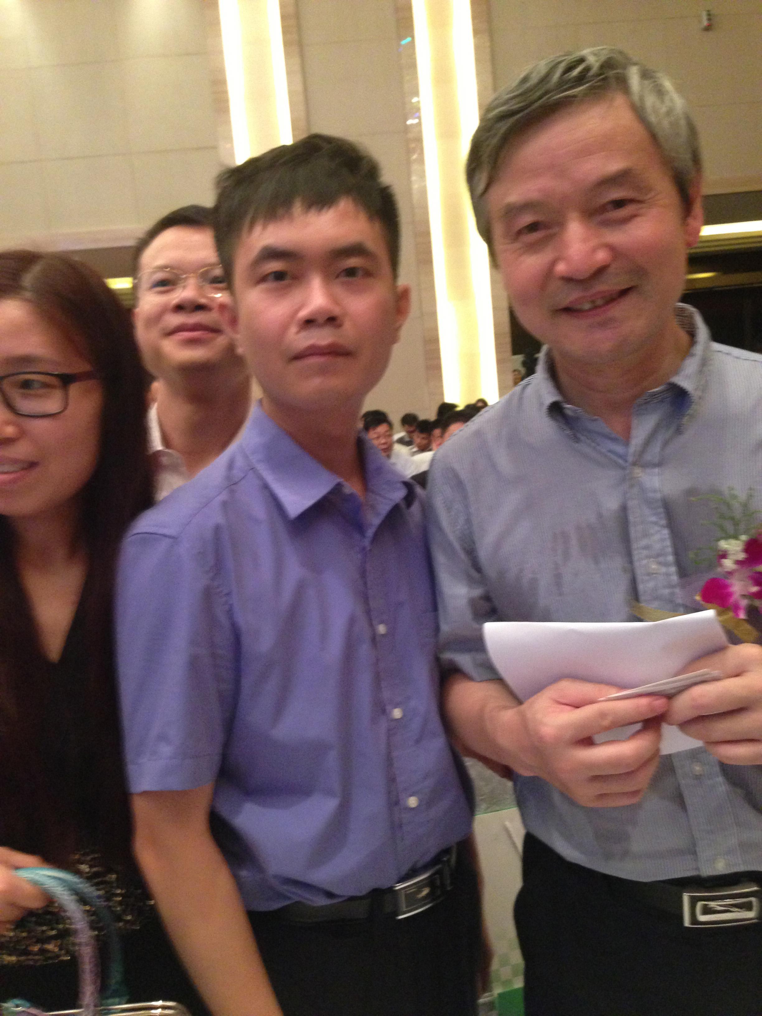 马俊哲律师与贺卫方教授合影