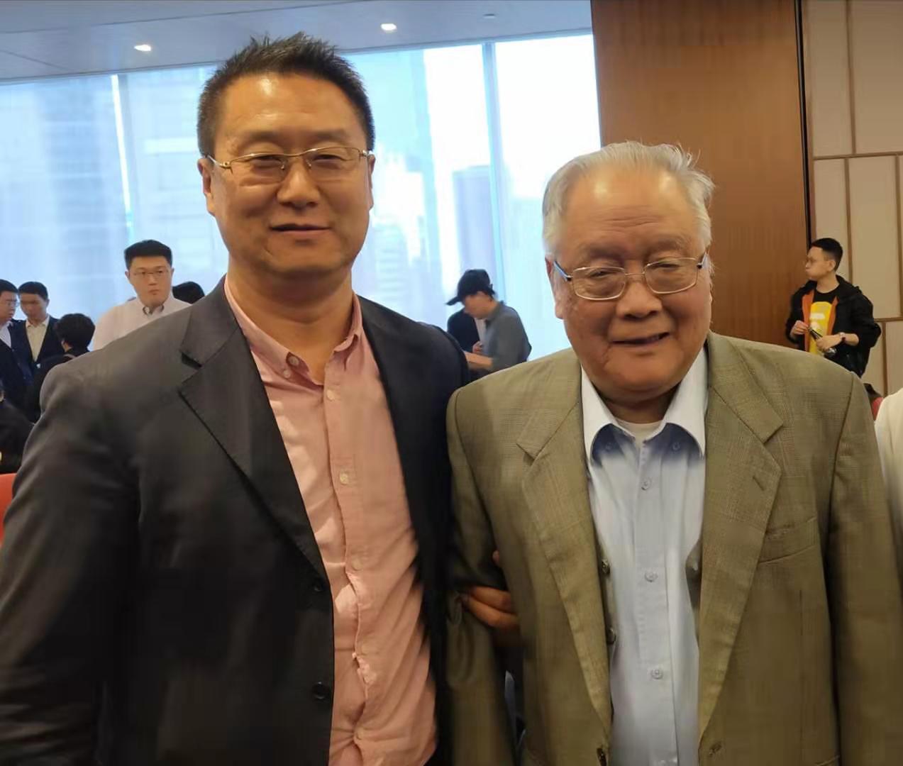 中国刑辩泰斗陈光中教授合影