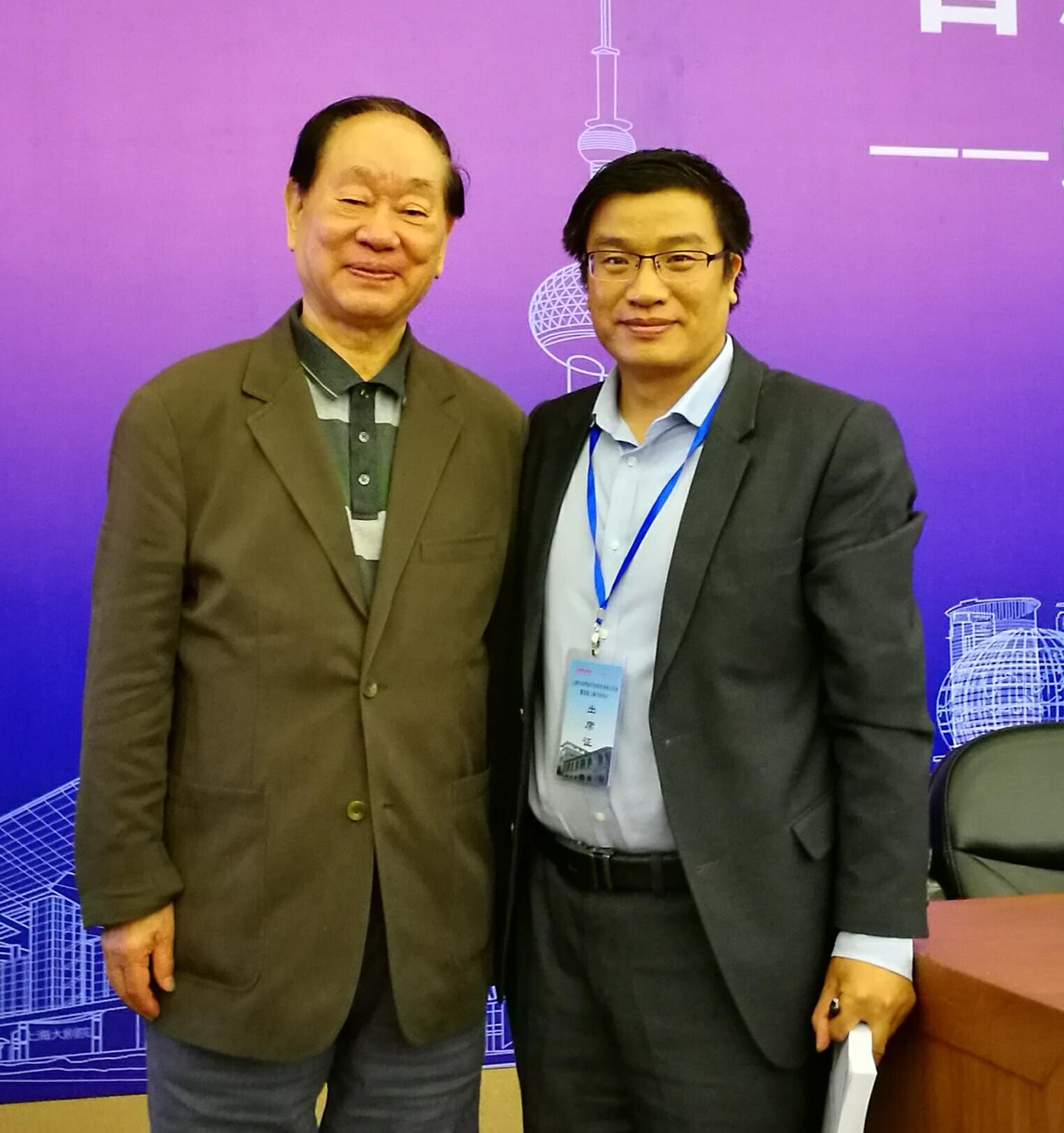 马友泉律师与著名刑诉法专家樊崇义合影