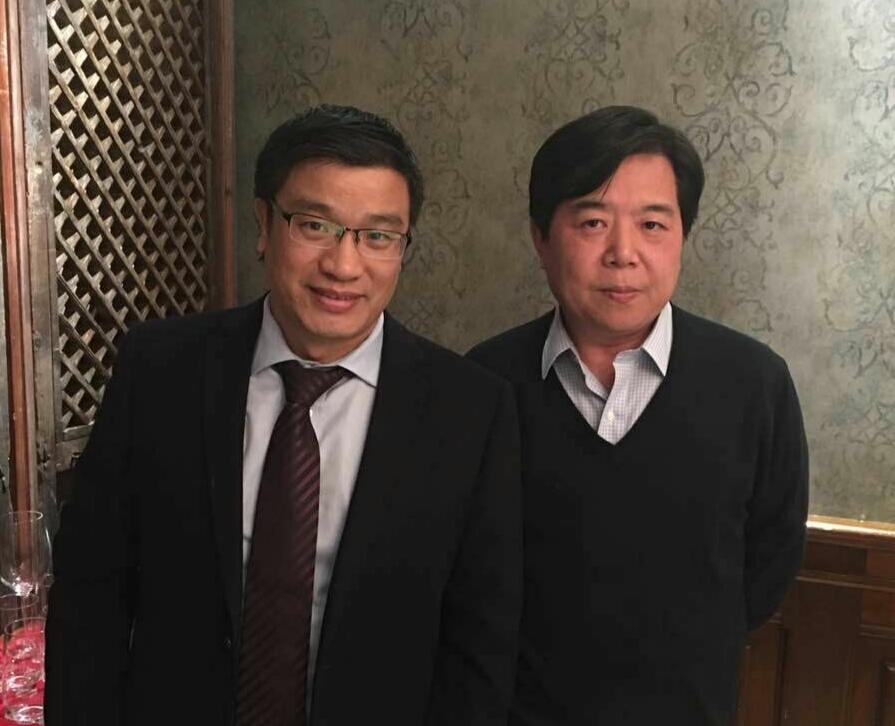 马友泉律师与著名刑法专家教授陈瑞华合影