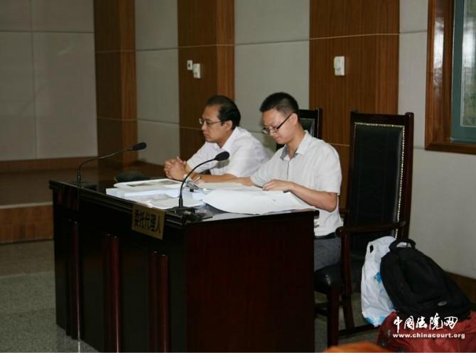 郑律师在北京高院出庭风采