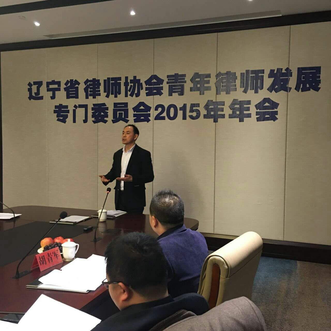 辽宁省律师协会青年律师发展专门委员会2015年年会