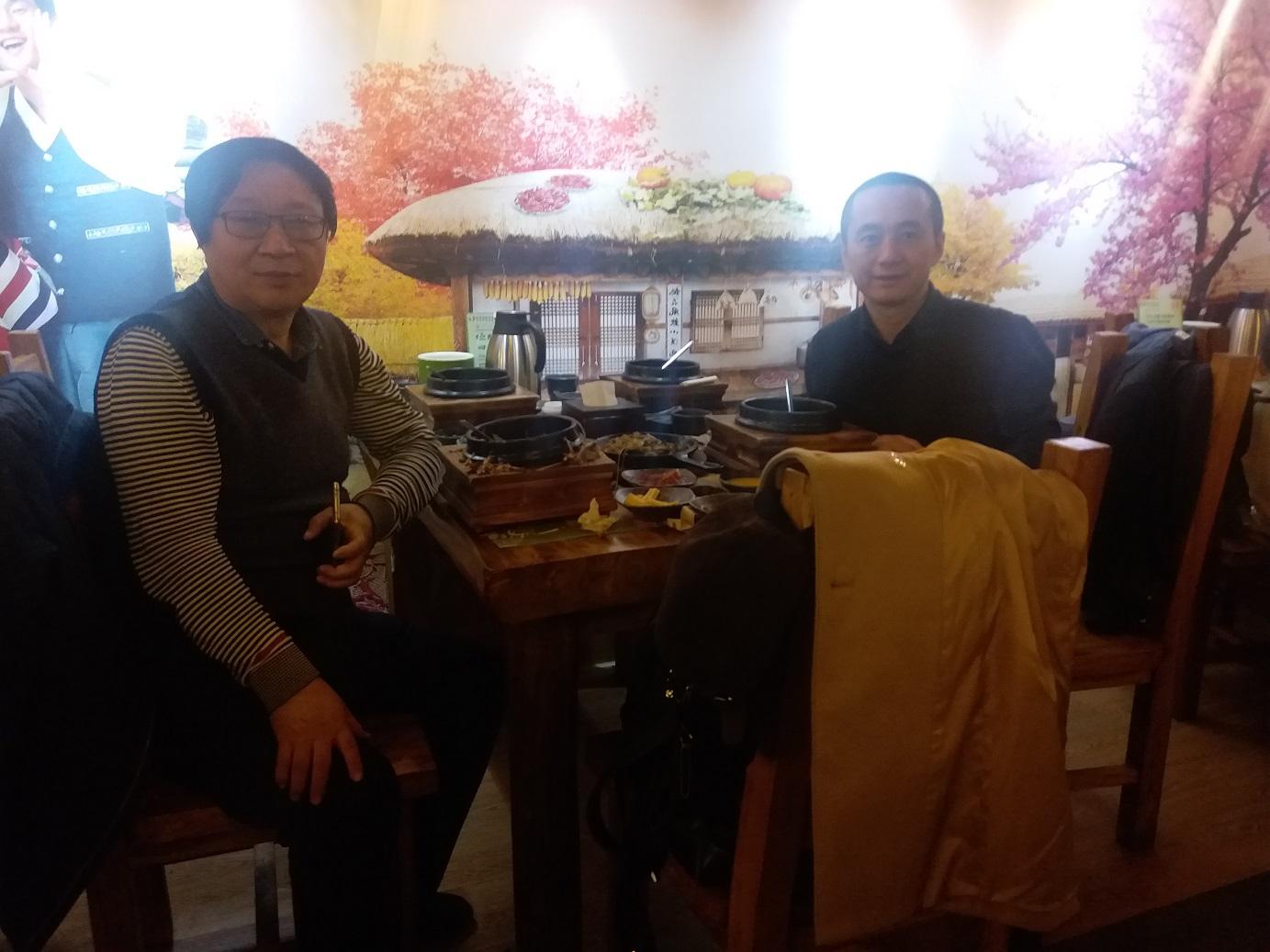元旦李大伟律师前往中国政法大学拜见导师张锋教授