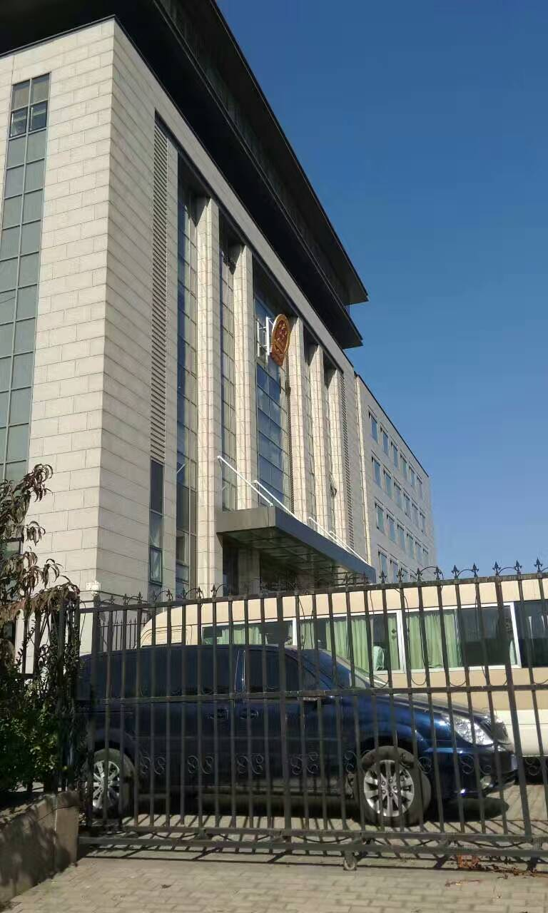 李律师前往北京东城区人民法院出庭