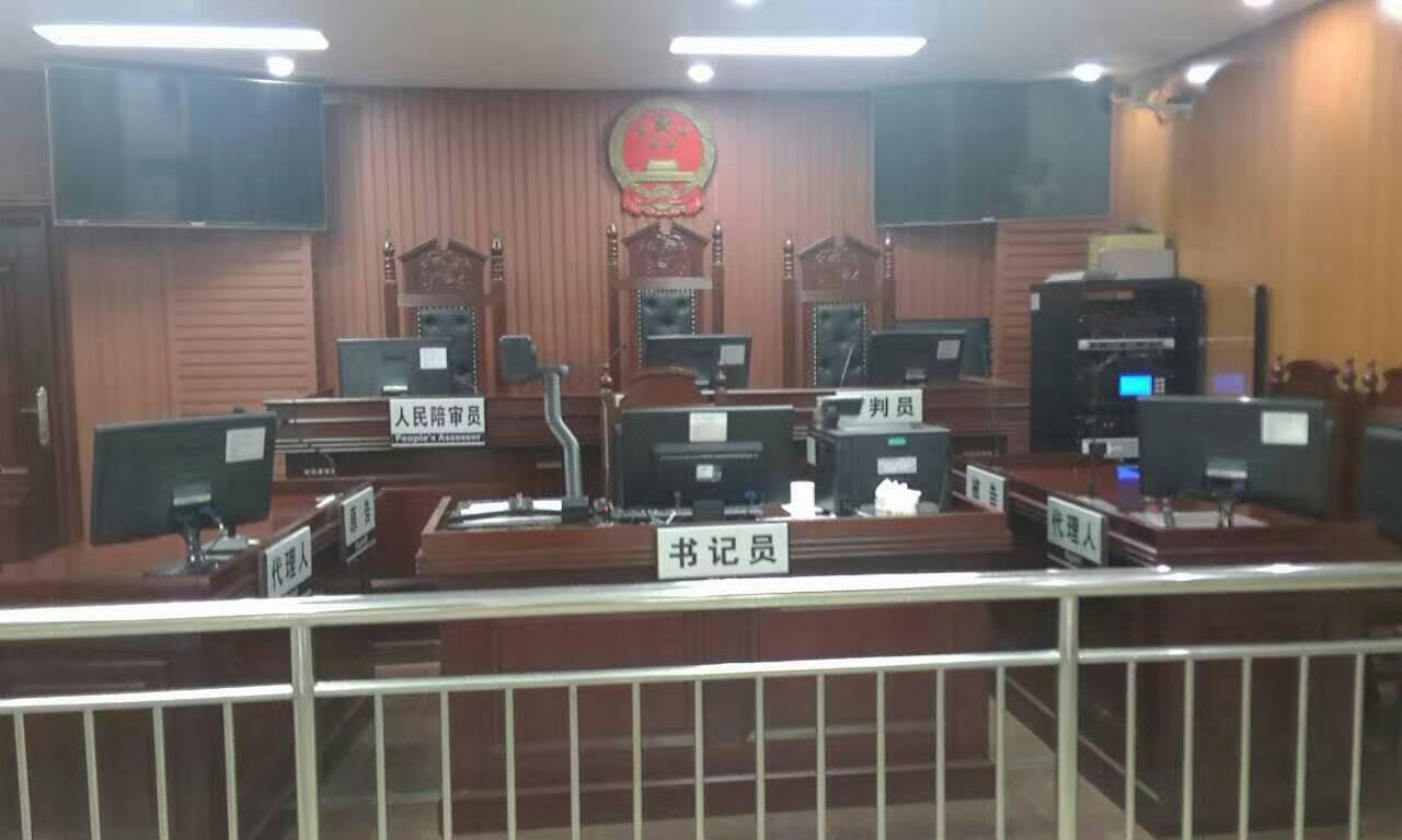 李律师在从化市人民法院派出法庭准备开庭