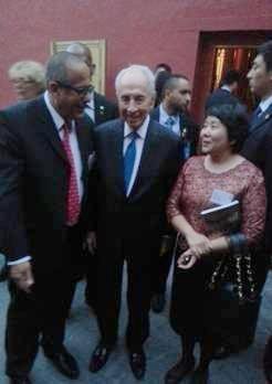 盈科律师事务所出席欢迎以色列总统酒会