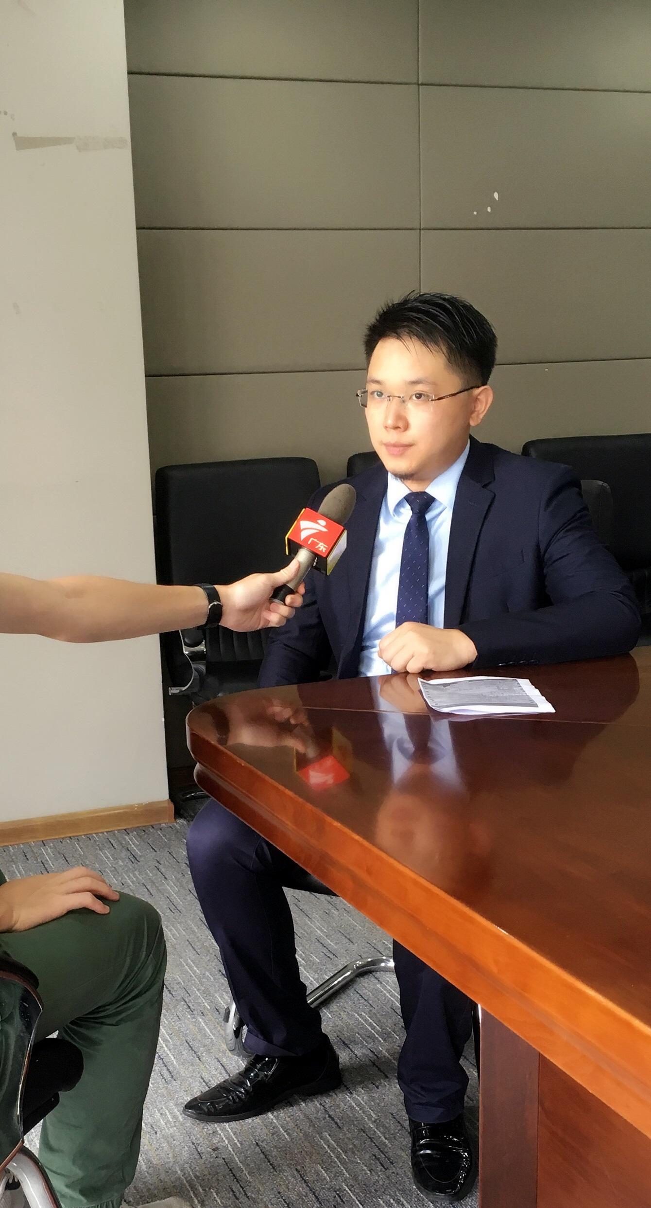 封华清律师接受采访