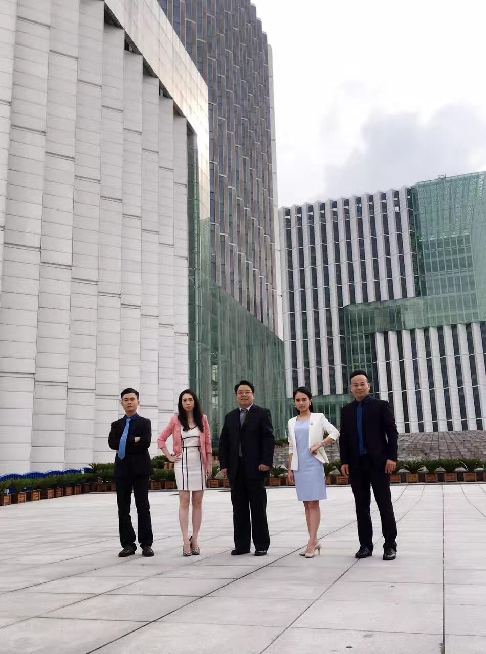 马俊哲律师参与电视台录影