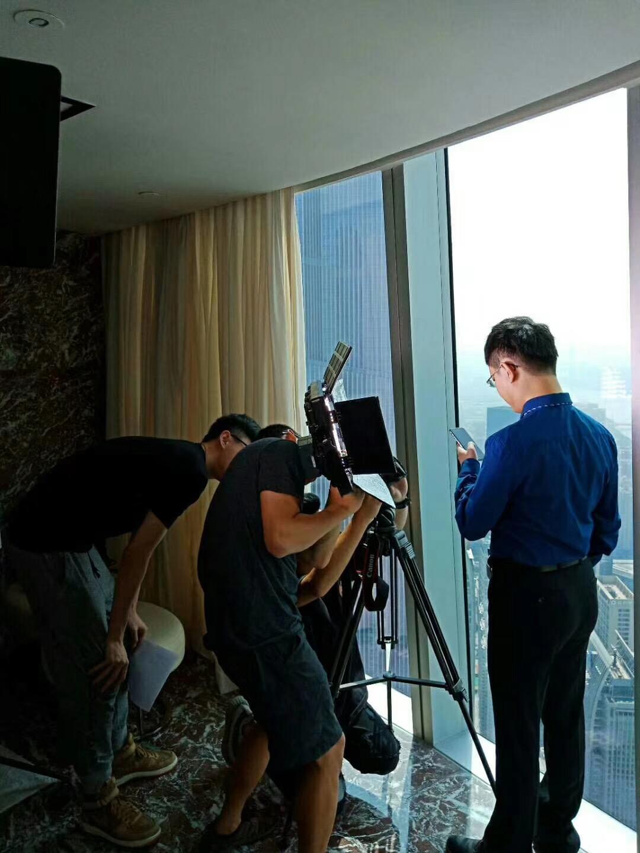 马俊哲律师拍摄个人宣传片