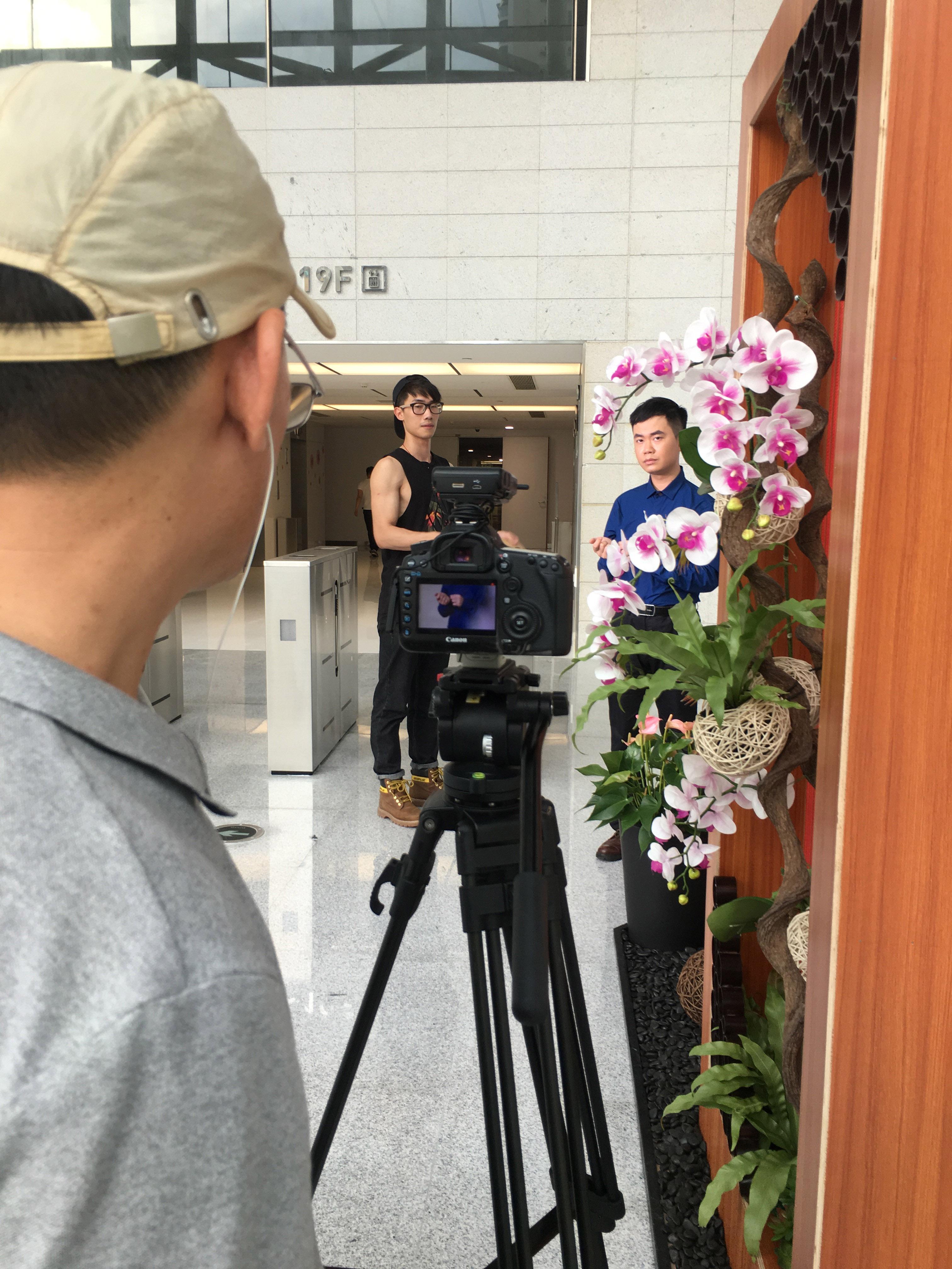 马俊哲律师在广州电视台拍摄节目
