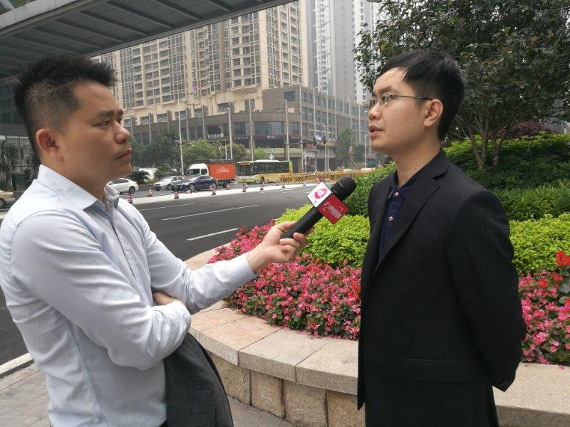 马俊哲律师接受电视台采访7
