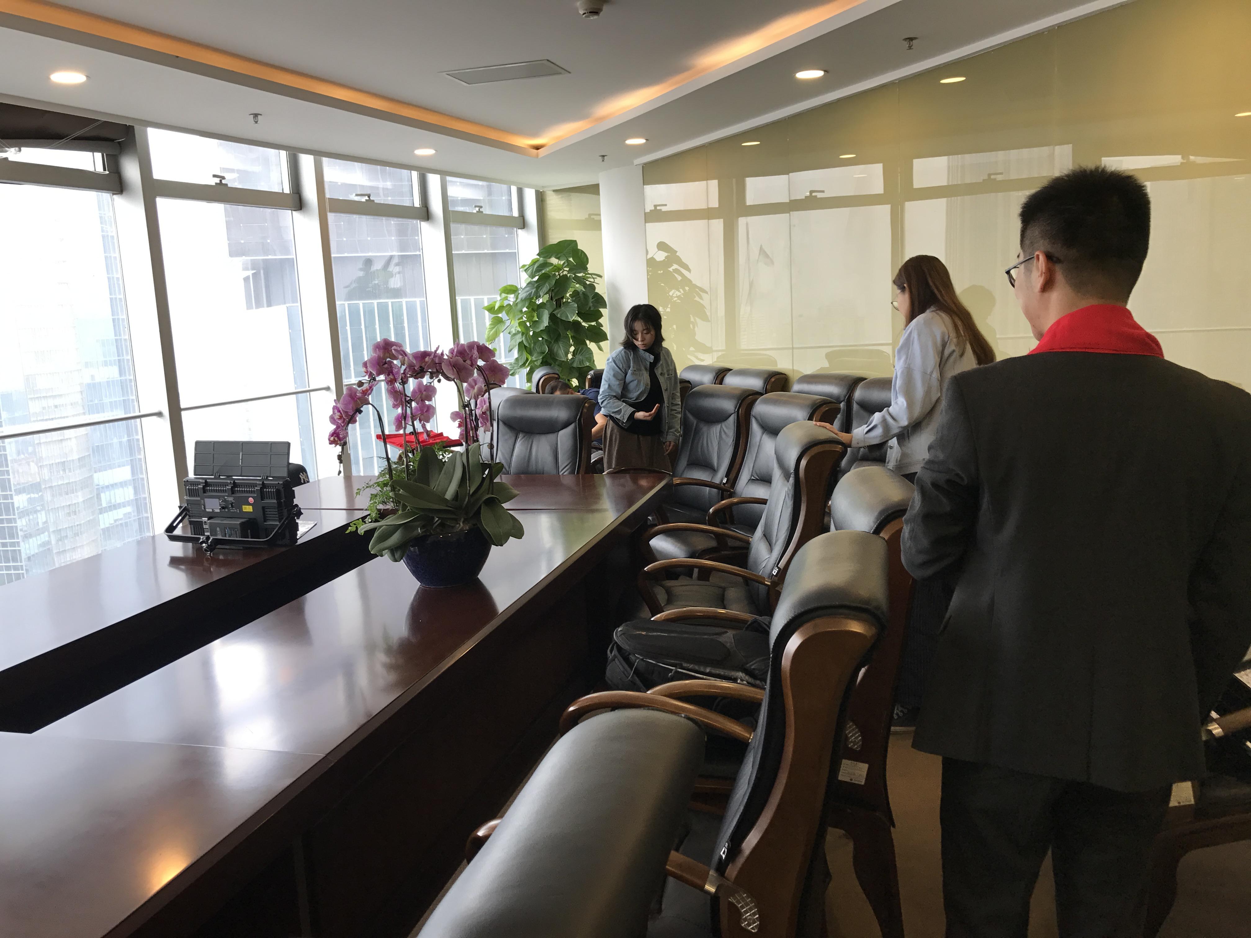 马俊哲律师团队进行贺岁片拍摄4