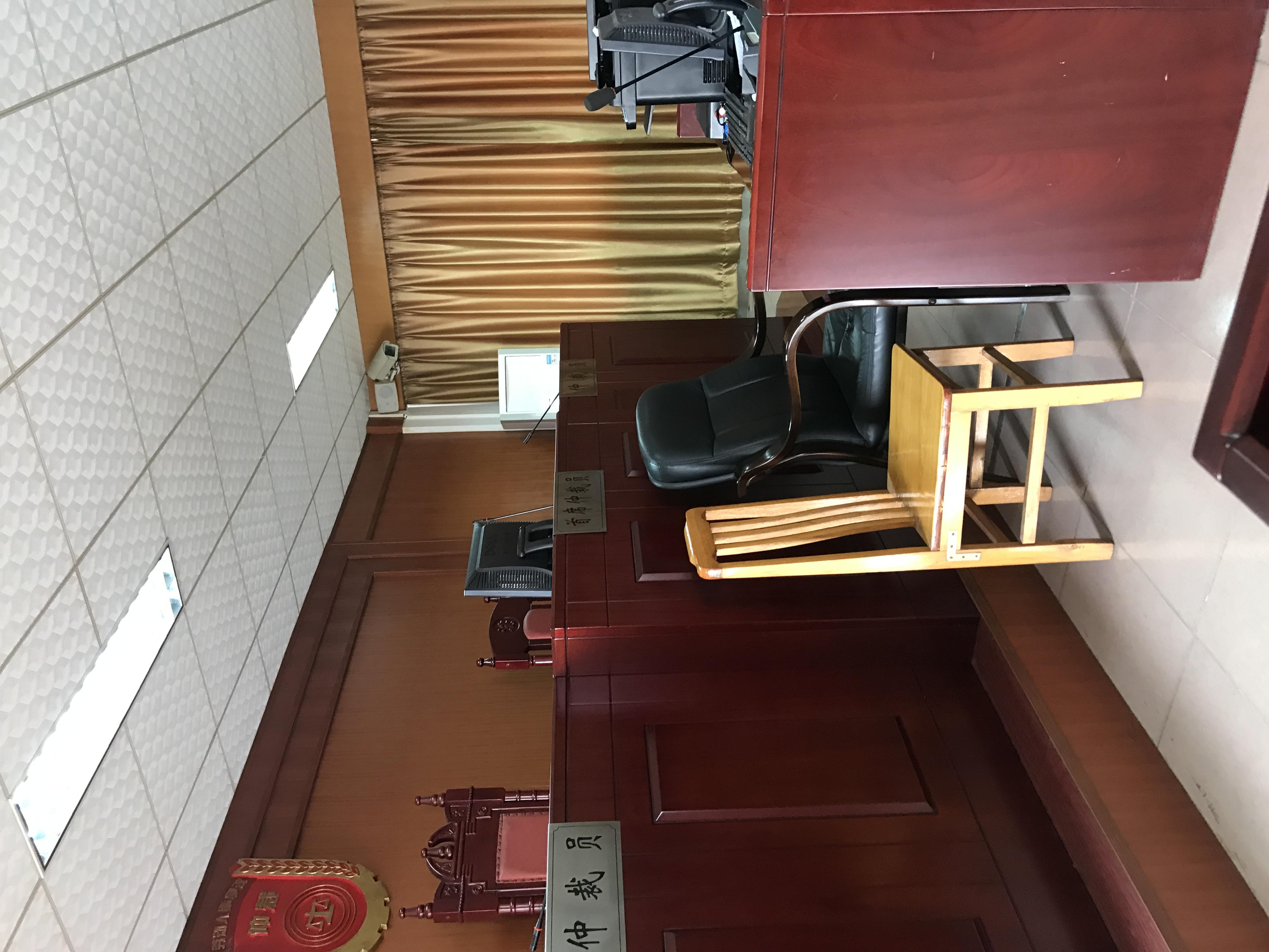 团队律师参与庭审