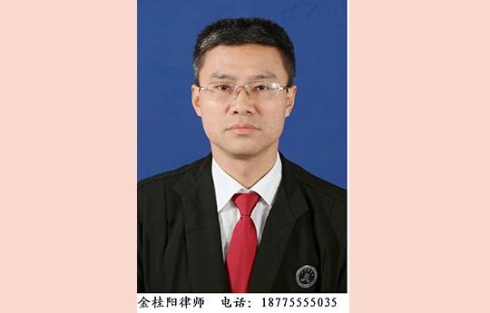 金桂阳律师