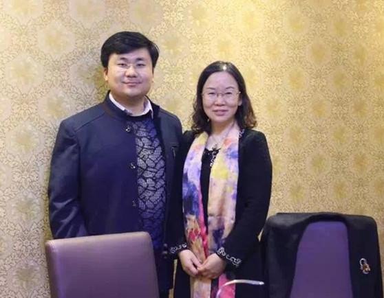 胡博晨律师与中国政法大学民事诉讼法学杨秀清教授合影