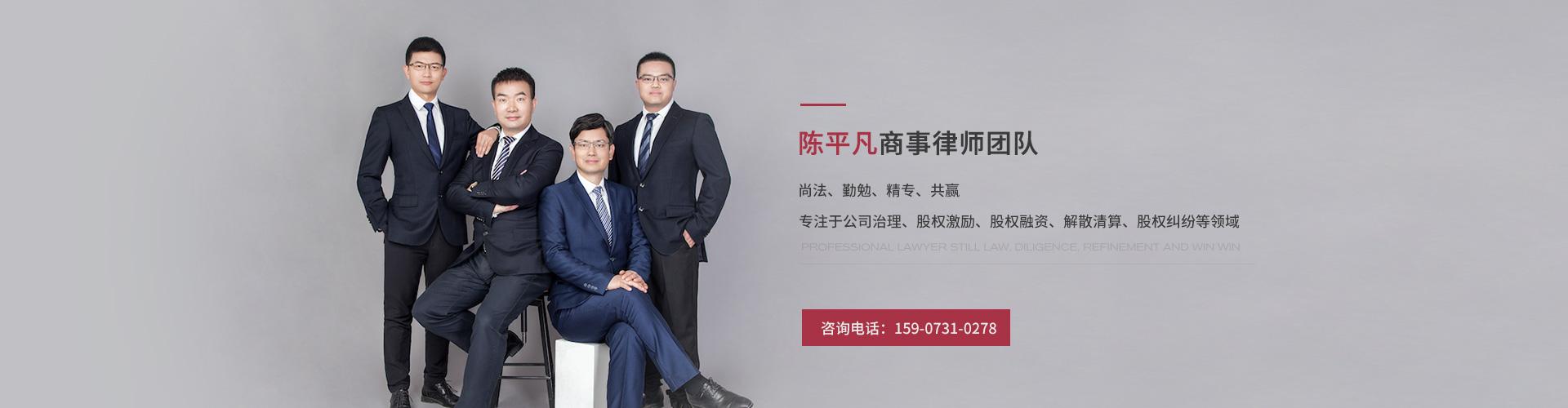 陈平凡商事律师团队